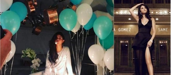 Selena Gomez celebra sus 25 años con todo