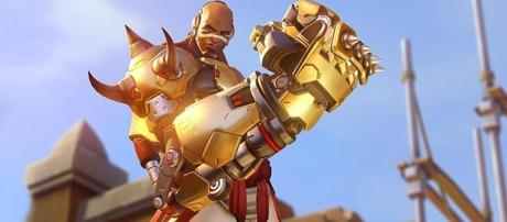 """While actor Terry Crews was a fan favorite, Sahr Ngaujah ended up voicing Doomfist in """"Overwatch."""" (Gamespot/Blizzard)"""