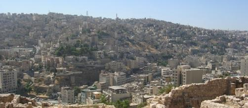 A view of Amman capital of Jordan where the firing took place.https://pixabay.com/en/amman-jordan-citadel-hill-ruin-957538/