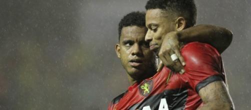 André e Rithely - jogadores do Sport