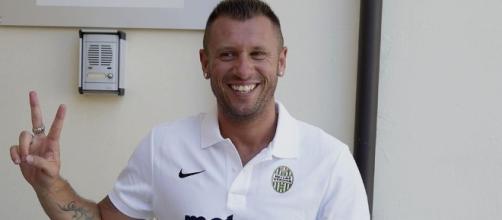 Antonio Cassano dice addio al calcio