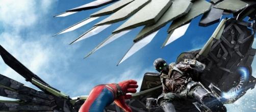 """Cartel de """"Spiderman: Homecoming"""""""
