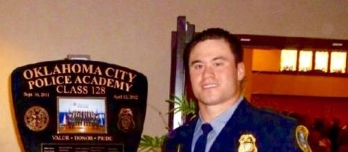 Daniel Holtzclaw, in full dress uniform [photograph courtesy of Eric Holtzclaw/FreeDanielHoltzclaw.com]