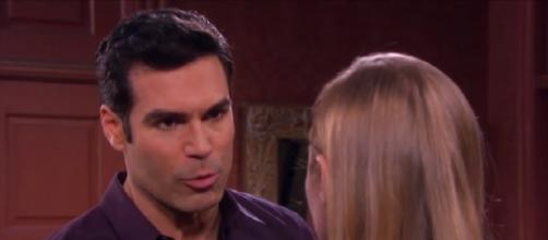 Days of our Lives Dario and Abigail. (Image via YouTube screengrab)