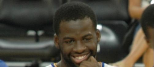 Draymond Green, part of the 2015 Golden State Warriors Championship Team in Oakland, California | Lpdrew via Wikimedia Commons
