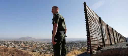 Imagem da fronteira dos Estados Unidos com o México. ( Foto: Reprodução)