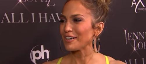 Jennifer Lopez and Alex Rodriguez celebrated a joint birthday for the first time in Miami. Image via Youtube/AccessHollywood