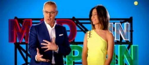Jordi Gonzálz y Nuria Marín en Mad in Spain