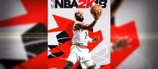 Kyrie Irving banners the NBA 2K18 cover (via YouTube - 2K Sports Official)
