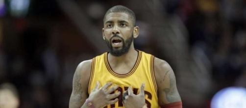 Kyrie Irvings reportedly asked his team to trade him on Friday. [Image Credit: ISPN/Youtube]