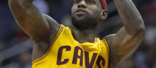 LeBron James with the Cleveland Cavaliers | Wikimedia Common