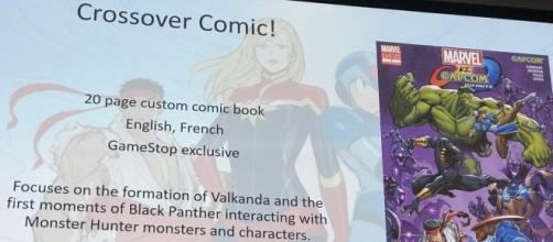 'Marvel vs. Capcom: Infinite' crossover comic confirms Monster Hunter character(Jared @ SDCC/Twitter)