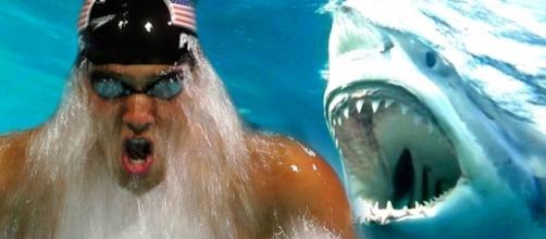 """Phelps vs Tubarão: Gande Ouro vs Grande Branco"""