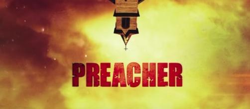 Preacher tv show logo image via a Youtube screenshot
