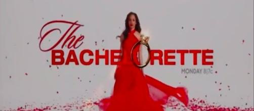 The Bachelorette tv show logo image via a Youtube screenshot
