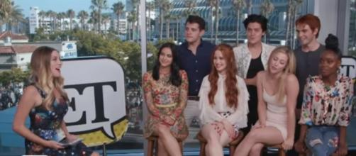 The Cast of 'Riverdale' Teases New Love Interests-via Entertainment Tonight youtube channel.