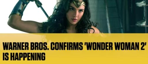 """""""Wonder Woman 2"""" has been confirmed by Warner Bros. to happen really soon. Image via YouTube/Complex News"""