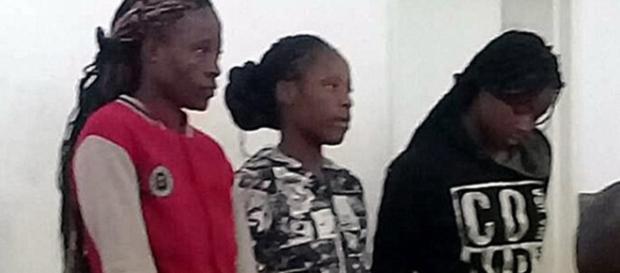 As três mulheres foram acusadas de estuprarem um pastor
