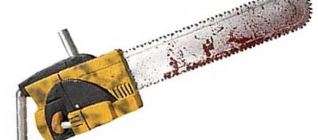 Ataque com serra elétrica deixa feridos (Foto: Reprodução)