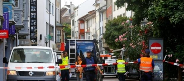 El ataque provocó una fuerte movilización en el centro histórico de la ciudad