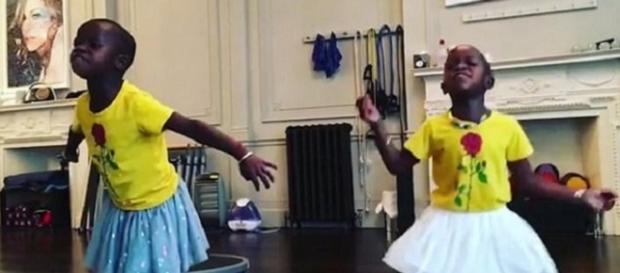 Filhas gêmeas de Madonna arrasam na dança (Foto: Instagram)