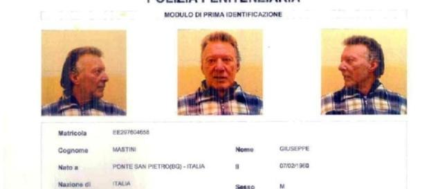Giuseppe Mastini è considerato uno dei più pericolosi criminali degli anni Ottanta