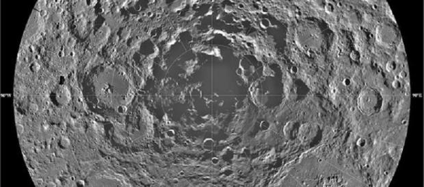 Lunar South Pole (Courtesy NASA)