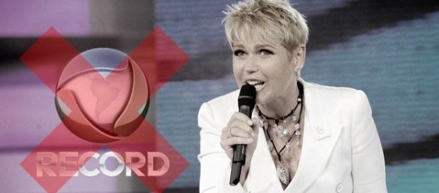 Xuxa revelou que não estava feliz com a Record (Foto: Reprodução)