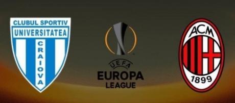 Craiova - Milan, terzo turno preliminare di Europa League