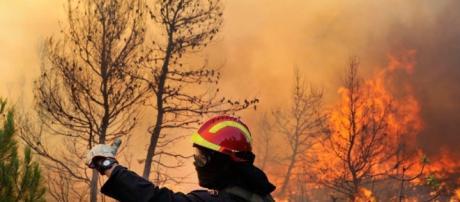 incendi sena fine al sud Italia
