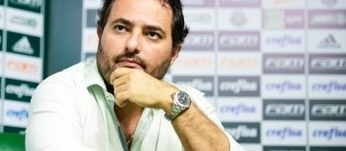 Alexandre Mattos é diretor de futebol no Verdão