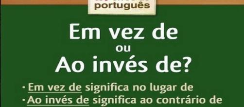 Confira dicas de português (Foto: Reprodução)