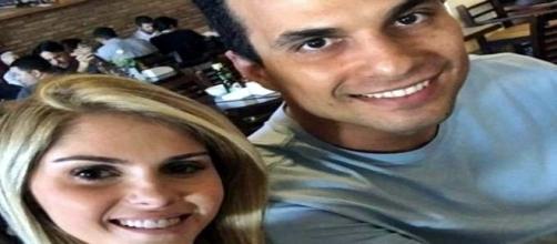 Bárbara Evans e o namorado Irajá Abreu, filho da senadora pelo PMDB Kátia Abreu