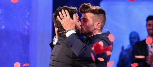 Claudio Sona e Mario Serpa a Uomini e Donne.