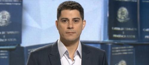 Evaristo Costa está de saída da Globo