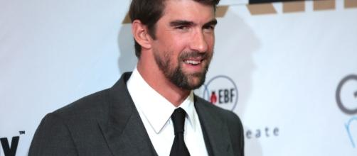Michael Phelps on the red carpet at Celebrity Fight Night - Image by Gage Skidmore | Flickr