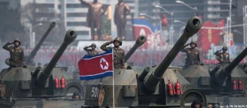 La Corea del Nord mostra i muscoli. La parata militare del 15 ... - agi.it