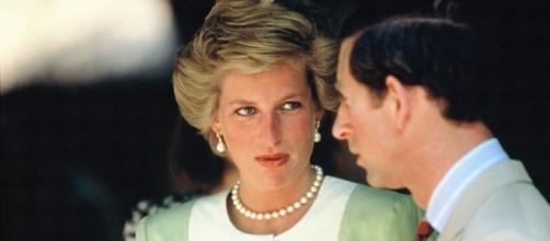 Lady Diana con il principe Carlo d'Inghilterra