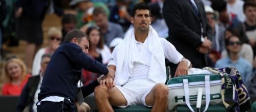 Novak Djokovic pourrait rater la fin de saison 2017 suite à son ... - eurosport.fr