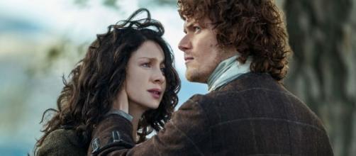 Outlander' Star Caitriona Balfe - Screenshot
