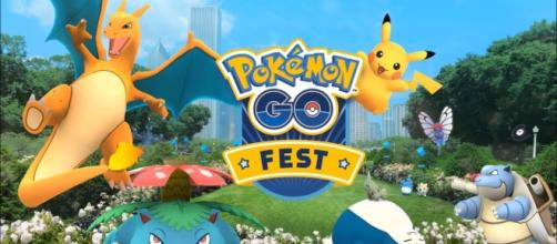 """Pokemon GO Fest"" earned the ire of fans due to connectivity issues and long-hours lines (via YouTube/Pokemon GO)"