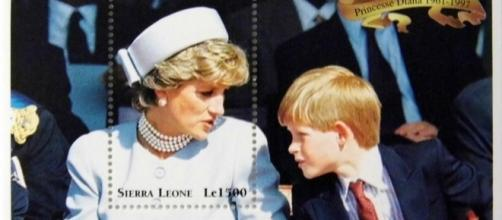 "Princess Diana ""With Harry"" Commemorative Stamp via Flickr / Joe Haupt"