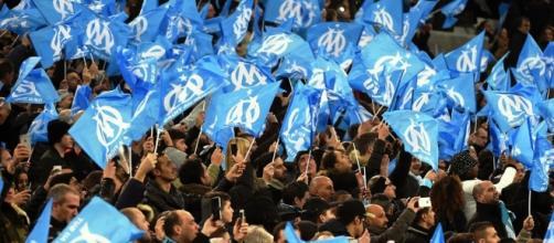 Supporters de l'Olympique de Marseille