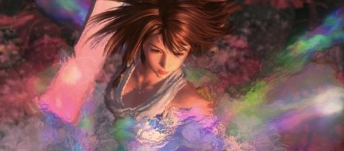 Yuna performing the Sending in 'Final Fantasy X' (image : YouTube/Fabs.media)