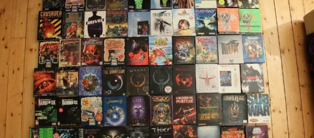 A handful of PC games courtesy of Flickr.