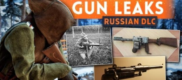 'Battlefield 1' final five weapons for In the Name of the Tsar DLC leaked(Westie/YouTube Screenshot)