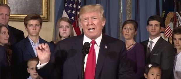 Donald Trump on Obamacare, via YouTube