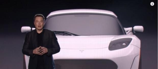 Elon Musk revealed the Tesla Model 3 - YouTube/Tesla