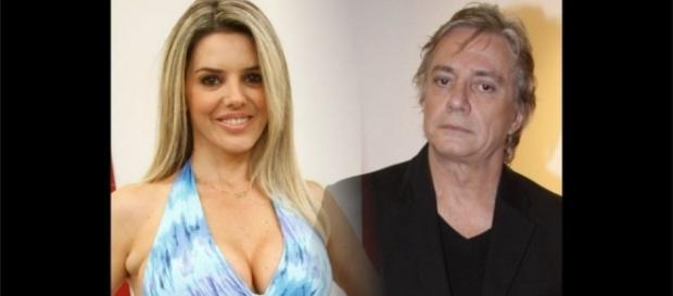 Fábio Jr. quer reduzir a pensão que paga ao filho que tem com Mari Alexandre (Foto: Reprodução)