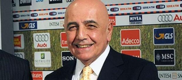Galliani è il nuovo presidente di Mediaset Premium
